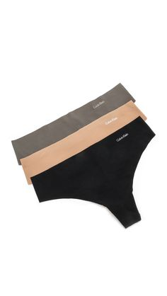 25 percent off all calvin klein underwear! invisible thong 3-pack