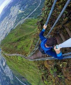 Hawaii, staircase to heaven