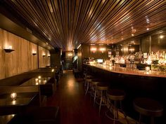 Despite the ominous name, there's nothing gloomy about this speakeasy styled bar. Hiding behind distinctive doors...