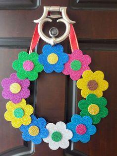 Valentine Crafts For Kids, Mothers Day Crafts, Fun Crafts For Kids, Diy Home Crafts, Craft Activities For Kids, Valentine Decorations, Preschool Crafts, Diy For Kids, Easy Crafts