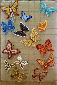 Katarína Búranová Types Of Lace, Lace Heart, Lace Jewelry, Bobbin Lace, Lace Detail, Free Crochet, Hand Embroidery, Butterfly, Goth