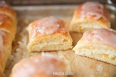Sweet Yeast Rolls { Drożdżówki z serem - Przepis }