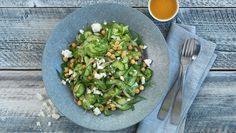 Agurk- og kikertsalat - MatPrat