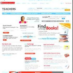 http://bookwizard.scholastic.com/bookwizard/ - - find out what level a book is or other books of interest...
