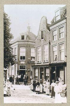 Brabantse Turfmarkt omstreeks 1900