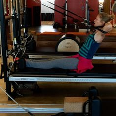 Another kickass move from @sole_pilates during today's #Stott #circuit #pilates #workout! #NeckPull with an assist from the straps. Good stuff! Join us??