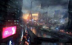 Cyberpunk Game, REMEMBER ME - NEO PARIS 2084, Dontnod - Adrift conceptart 02 by paooo on deviantART
