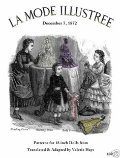 Dec 1872...not Poupee Modele...but French!