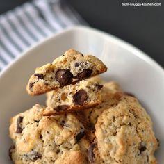 Knusper Cookies mit Schokolade, Haferflocken und Cornflakes