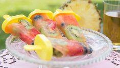 Selbstgemachtes Frucht-Eis