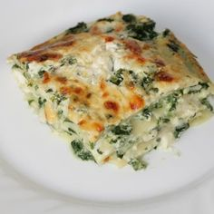 No Time? No Problem, This Spinach Lasagna Is A Breeze To Make