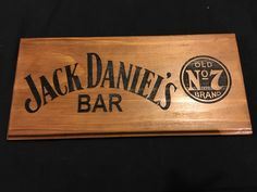 A personal favourite from my Etsy shop https://www.etsy.com/au/listing/259273549/jack-daniels-bar-sign