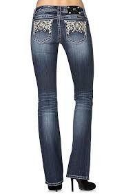 Miss Me® Ladies' Navajo Boot Cut Jeans JW8232B