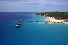 Crash Boat Beach, (Playa Crash Boat) nr. Aguadilla, PR, just down the cliff from our vacation apartment.