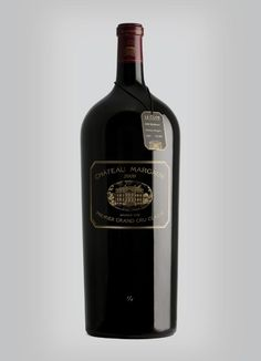 Wine merchant Le Clos unveiled a Balthazar of Château Margaux 2009 at the cost of $195,000, making it the world's most expensive bottle of red wine to ever be retailed.
