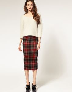 amazing pencil skirt outfits   ... Kardashian Inspired (chambray ...