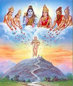 Lord Shiva and Goddess Parvati gave birth to Lord Murugan to fight with demon Surapadman. Shiva Art, Ganesha Art, Hindu Art, Lord Ganesha, Shiva Shakti, Lord Murugan Wallpapers, Lord Shiva Painting, Hindu Dharma, Durga Goddess