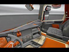 Cabine - Bege E Laranja Scania Para V.1.9.X By: MetalJimis ~ ETS 2 Brasil Mods | Os Melhores Mods Estão Aqui!