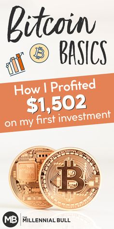 The Basics Of Bitcoin (a quick guide for Millennials - Bitcoin Investing - Ideas of Bitcoin Investing - Learn the basics of bitcoin and how to make money with bitcoin! Investing In Cryptocurrency, Cryptocurrency Trading, Bitcoin Cryptocurrency, Blockchain Cryptocurrency, Investing Money, Real Estate Investing, Stock Investing, Make Money Online, How To Make Money