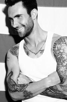 Adam Levine-voted sexiest man!  https://www.facebook.com/femguide