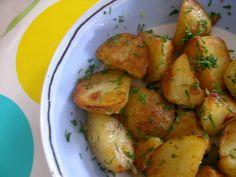 Pommes de terre Grenailles sautées - les meilleures !!! - Au four et à mesure