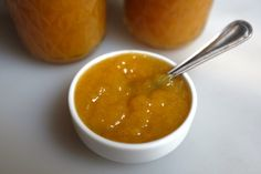 I just made this amazing peach and ginger preserves recipe.  It's fantastic.  Expect some for Christmas...