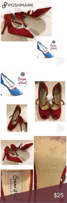 Comme il faut Tango Shoes from Argentina Size 36 Comme il faut Tango Shoes Size 36 Some wear, but has a lot of life left comme il faut Shoes Heels
