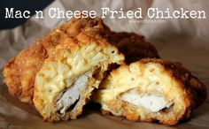 How To Make Fried Chicken-Stuffed Mac & Cheese Empanadas
