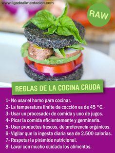 Cocina cruda - Raw food #raw #cruda #cocina #alimentación