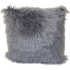 Fur Pillow, Fur Throw Pillows, Faux Fur Throw, Throw Pillow Cases, Pillow Covers, Grey Pillows, Small Pillows, Accent Pillows, Living Room Decor Purple