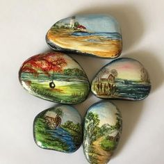 More hand painted rocks