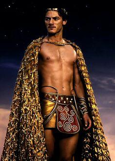 "Luke Evans as ""Zeus"""