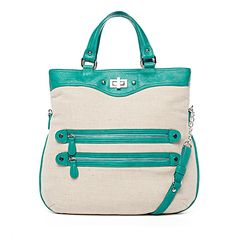 Danielle Nicole Carmen Tote { Can you fall in love at first sight with a bag? If you can , I just did. }