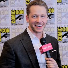 "Pin for Later: Once Upon a Time's Josh Dallas Talks Double Dad Duty: ""I Haven't Slept!"""