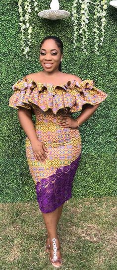 Moesha Boduong in moderner afrikanischer Mode afrikanische Mode Ankara Kitenge African Fashion Designers, African Dresses For Women, African Print Dresses, African Print Fashion, Africa Fashion, African Attire, African Wear, African Fashion Dresses, African Prints