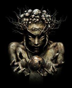 track of the album IM The Supervisor from the Psy-Trance group, Infected Mushroom. 3d Fantasy, Fantasy Kunst, Fantasy Artwork, Dark Fantasy, David Ho, Images D'art, Art Noir, Dame Nature, Black Magic Spells