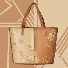 The mirror mystery! Contrasting colors and the inward mirror effect is what enthused us to craft this amazing tote bag. Available in Exclusive Baggit Stores & baggit.com