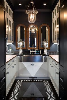 VT Interiors - Library of Inspirational Images (yes, I know I've pinned a kitchen to a bathrooms board)