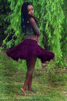 Fairy fae lace mini skirt by manakahandmade on Etsy, £40.00