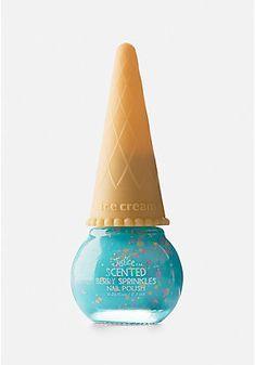 Blue Ice Cream Nail Polish