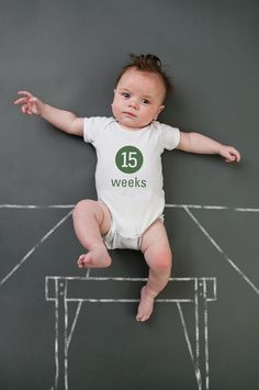 Life with Fingerprints: 15 weeks, weekly baby photo