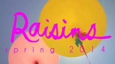 Raisins 2014 Swimwear Campaign.  Photographer Nicholas Maggio, Production Sara Siegel