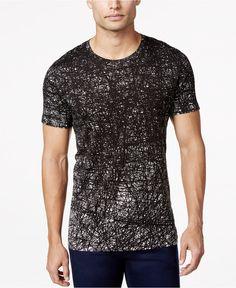 BOSS HUGO BOSS Darlisle Scribble-Print T-Shirt - T-Shirts - Men - Macy's