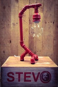 pipe and drape rental Steampunk House, Steampunk Lamp, Industrial Artwork, Pipe Decor, Galvanized Pipe, Pipe Lighting, Copper Lamps, Metal Pipe, Lamps For Sale