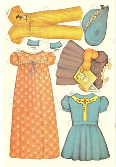 Paper Dolls~7 Darling Dolls - Bonnie Jones - Picasa Web Albums