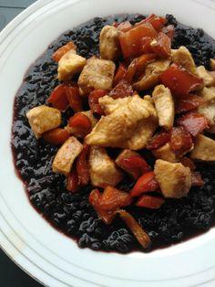 Riso venere all'abruzzese: con pollo e peperoni | L'Abruzzo è servito | Quotidiano di ricette e notizie d'Abruzzo