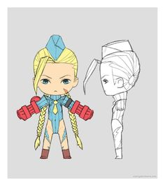 Chibi Cammy by ~martyisnothere on deviantART