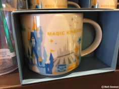New Starbucks mugs & cups available at Walt Disney World & Disneyland