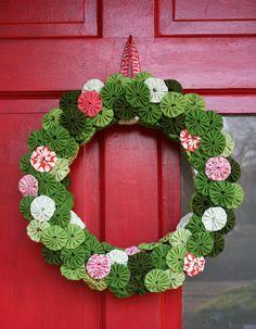 yo-yo wreath~