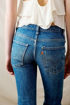 Vintage Levi's Flare Jean #urbanoutfitters